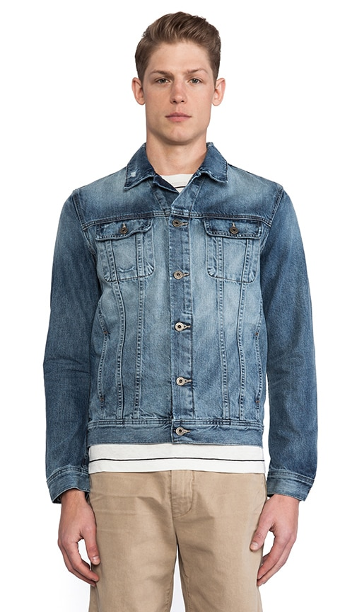 Dart Denim Jacket