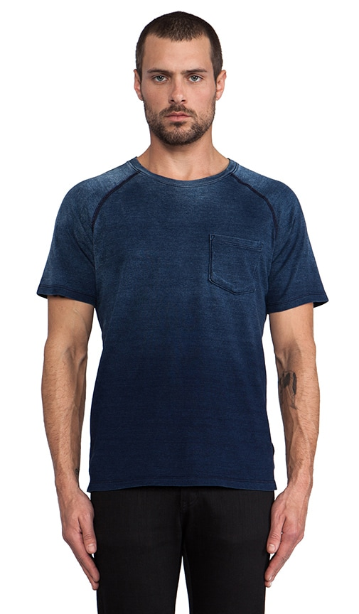 Saddle Shoulder Pocket Tee
