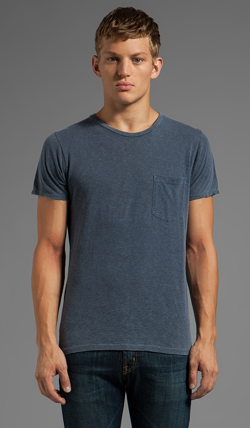 Back Seam Pocket Tee