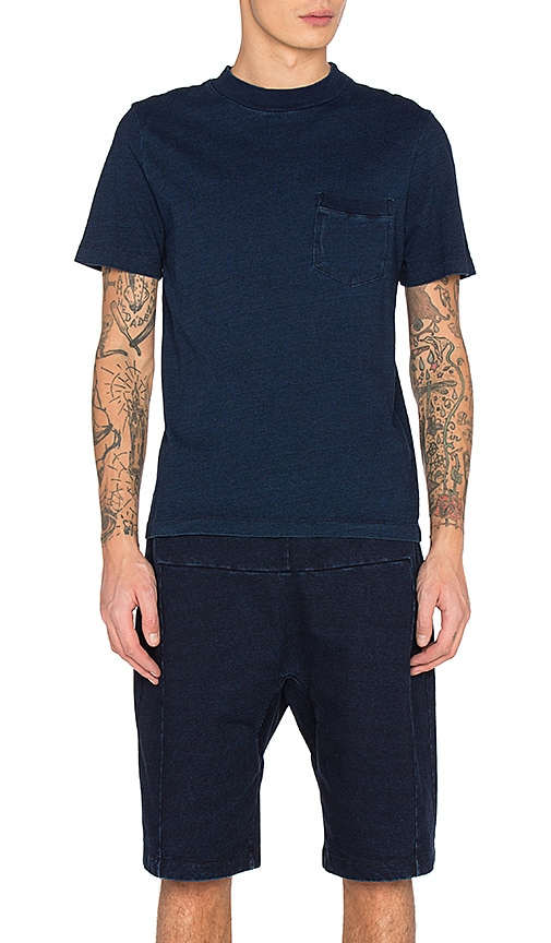 AG Adriano Goldschmied CAPSULE Cinque Tee in Blue