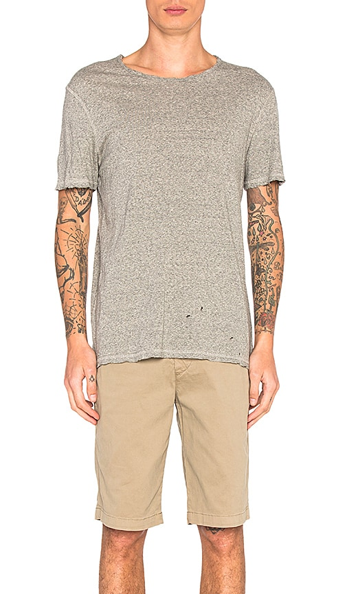 AG Adriano Goldschmied Ramsey Tee in Gray