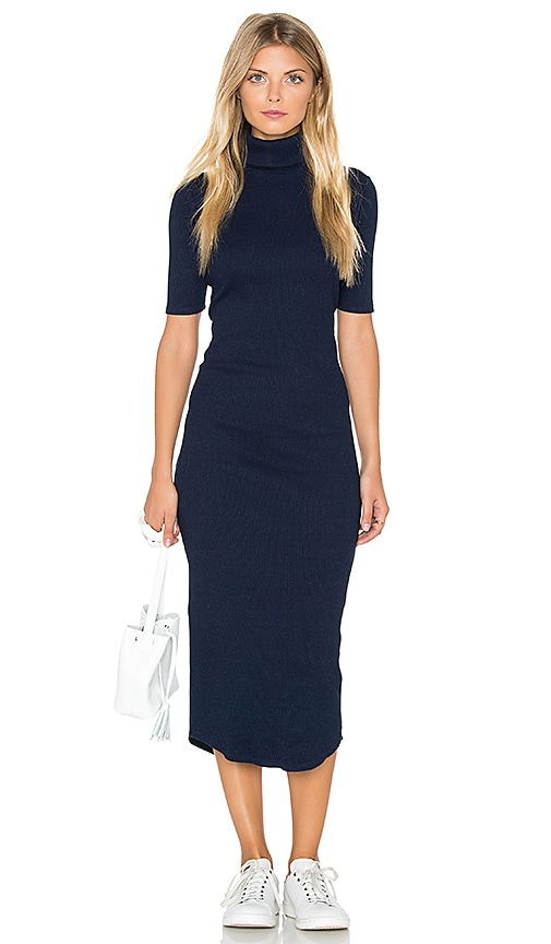 AG Adriano Goldschmied CAPSULE Cylin Dress in Navy