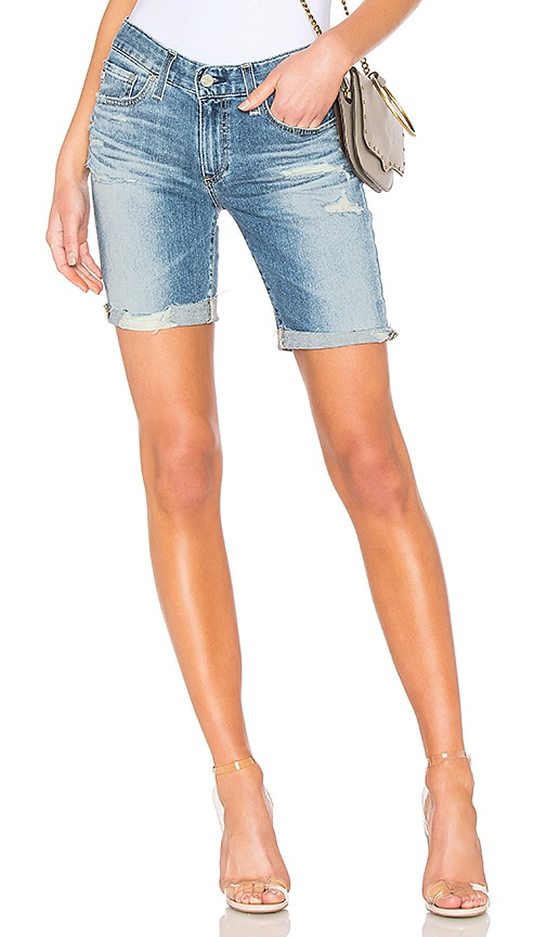 AG Adriano Goldschmied Womens Nikki Relaxed Jean Short