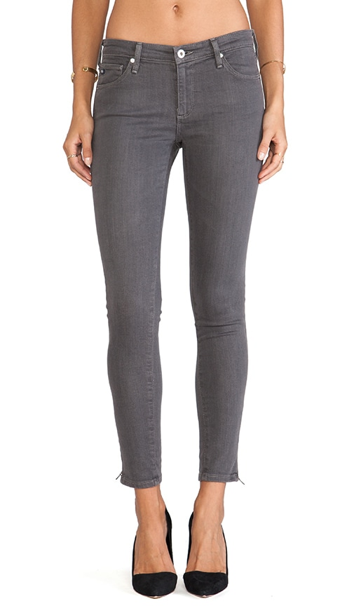 Zip-Up Legging Ankle