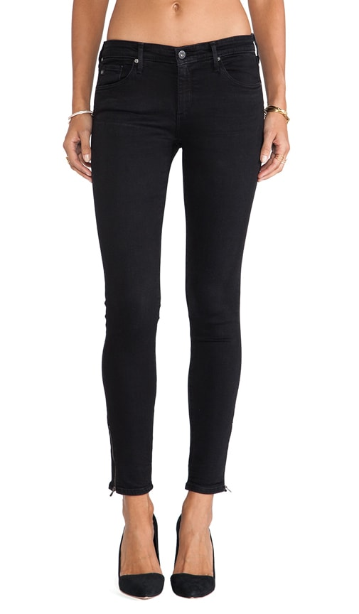 Zip Up Legging Ankle