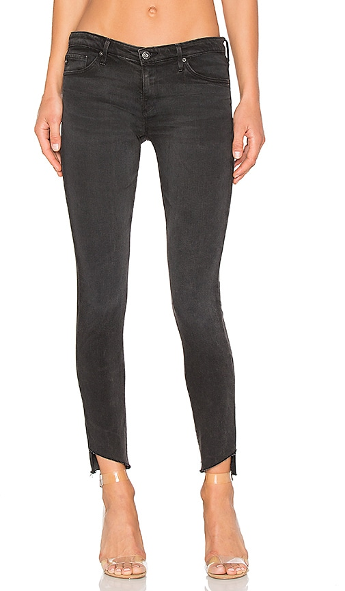 AG Adriano Goldschmied Legging Ankle in Rustic Black