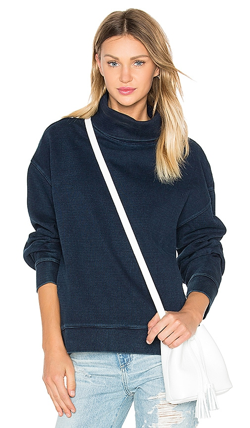 AG Adriano Goldschmied CAPSULE Nona Sweatshirt in Navy