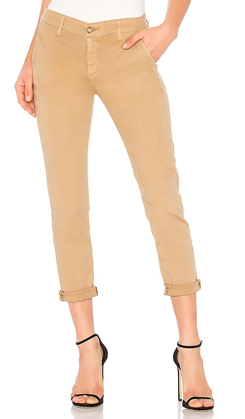 AG Adriano Goldschmied Caden Trouser in Tan