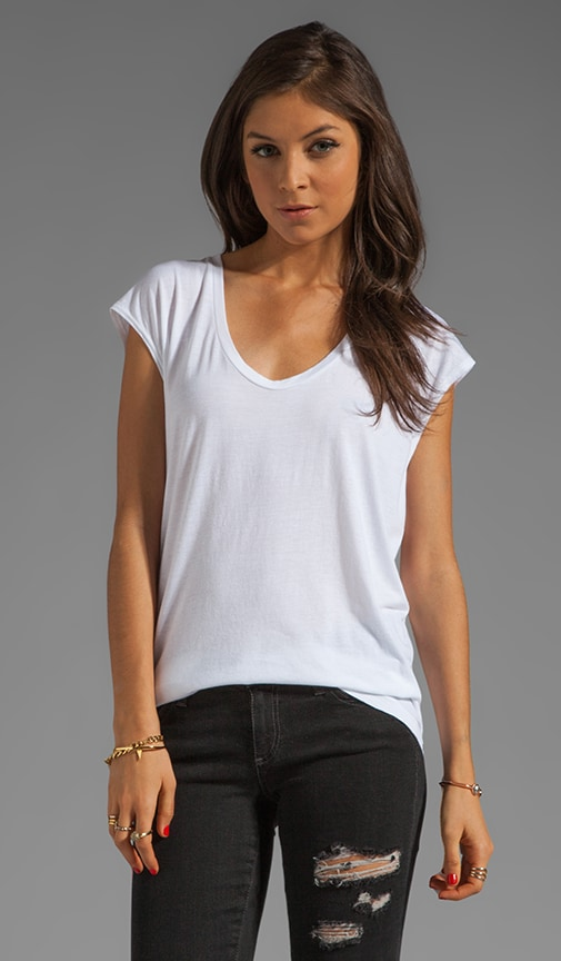 Sleeveless Scoop Tee