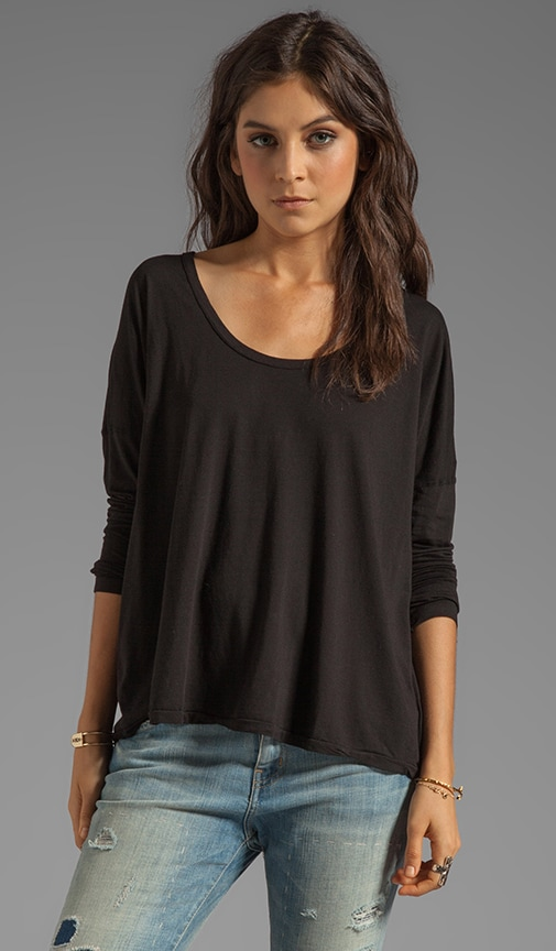 Boxy Scoop Tee