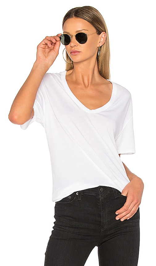 2d0c7e422a AG Adriano Goldschmied Henson Tee in True White | REVOLVE