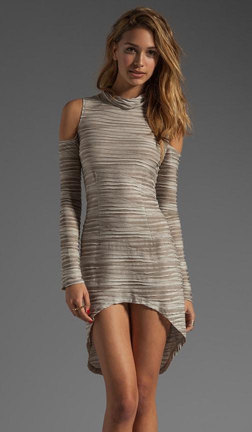 Scandal Cutout Asymmetrical Dress