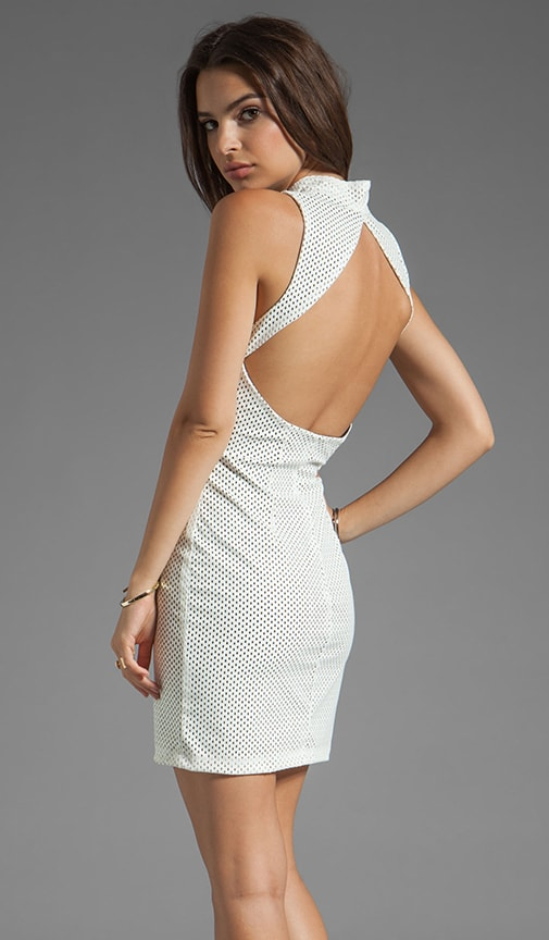Kennedy Stretch Backless Dress