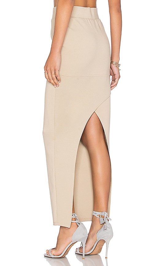 AGAIN Angie Skirt in Nude