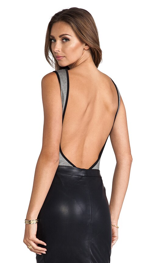 Barbara Backless Bodysuit