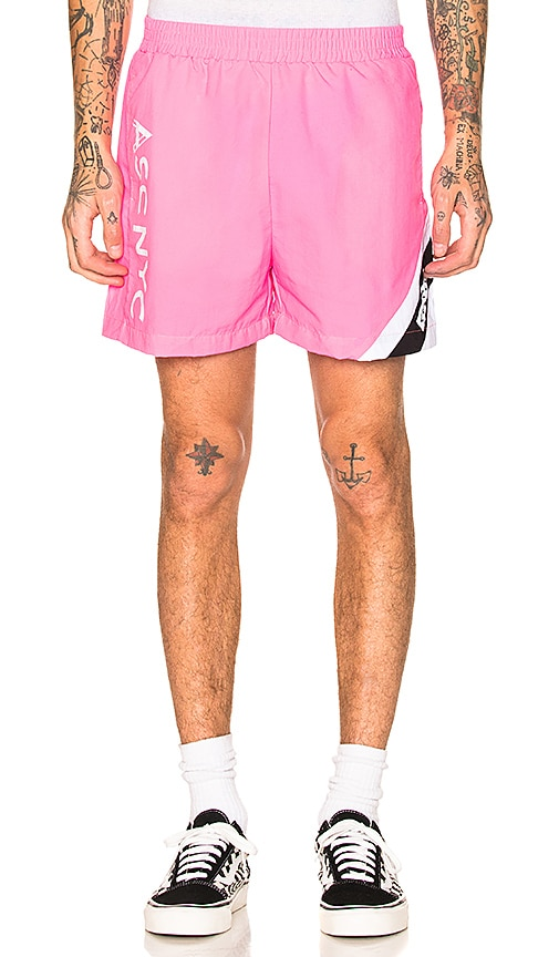 AGOLDE x Associated Flo Short in Pink