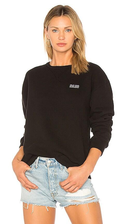AGOLDE AGOLDE x A$AP FERG Pullover Sweatshirt in Black