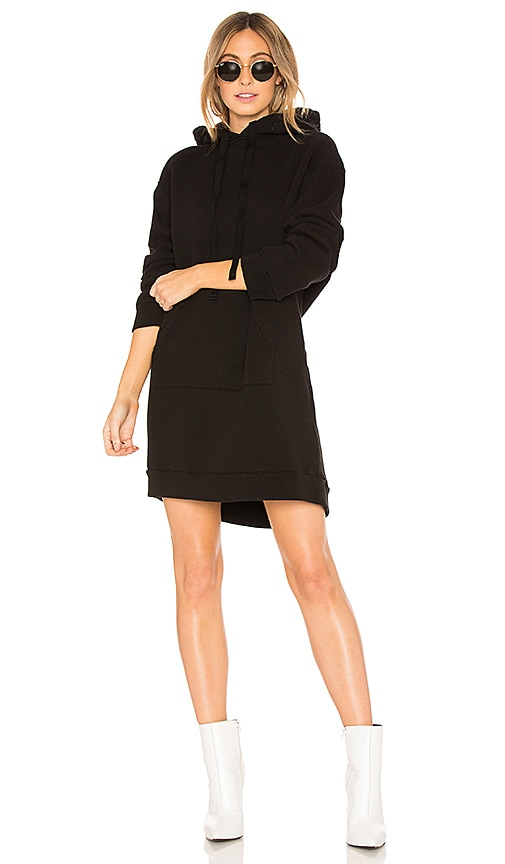 AGOLDE Hoodie Dress in Black