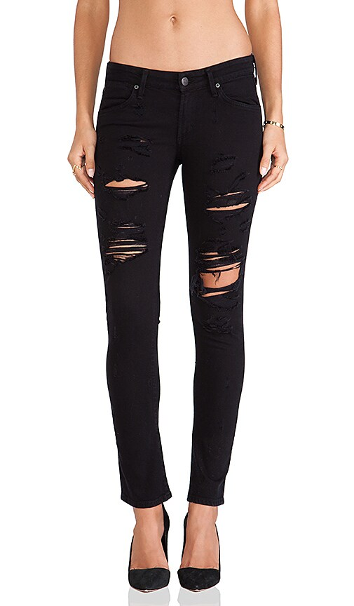 A Gold E Chloe Low Rise Skinny
