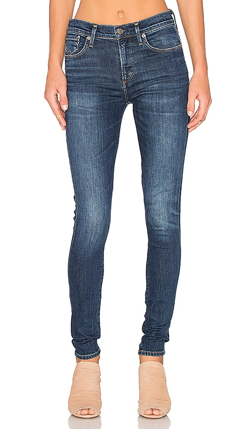 AGOLDE Sophie High Rise Skinny in Chamberlain