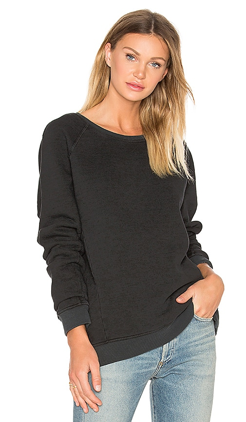 AGOLDE Alex Sweatshirt in Black