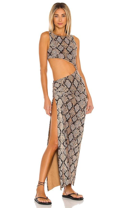 Agua Bendita X Revolve Massai Dress In Multi