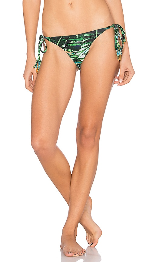 Agua Bendita Bendito Mapora Bikini Bottom in Green