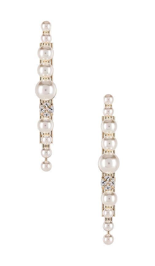 Post Pearl Cluster Earring