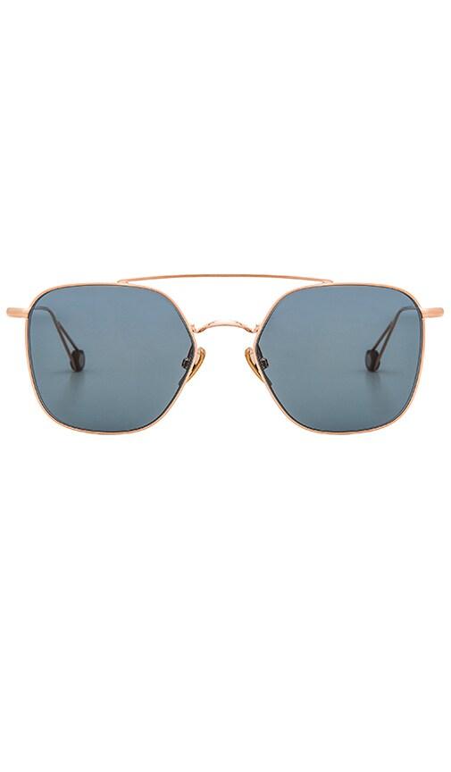 Concorde Sunglasses In Metallics., Metallic Bronze
