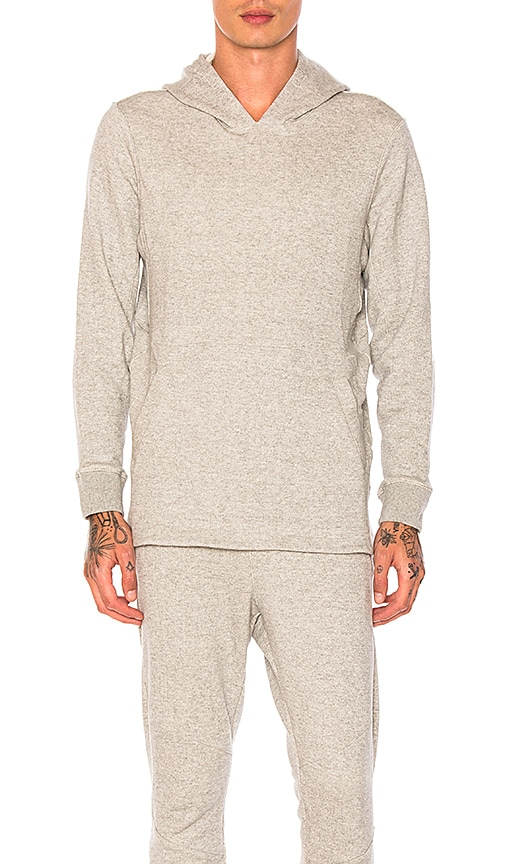 Athletic Propulsion Labs: APL Terry Hoodie in Gray