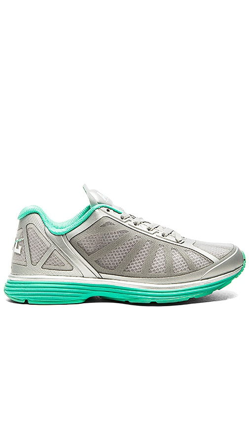 Athletic Propulsion Labs: APL Windchill Sneaker in Silver & Mint