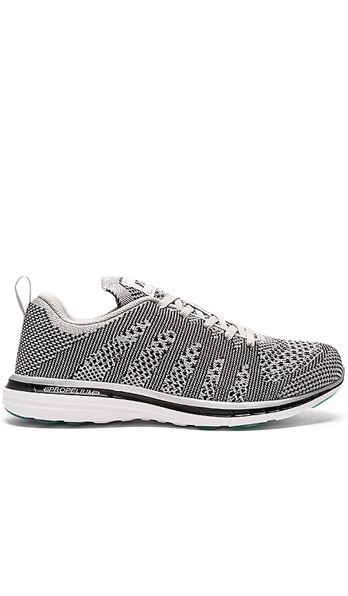 Athletic Propulsion Labs: APL TechLoom Pro Sneaker in Metallic Silver