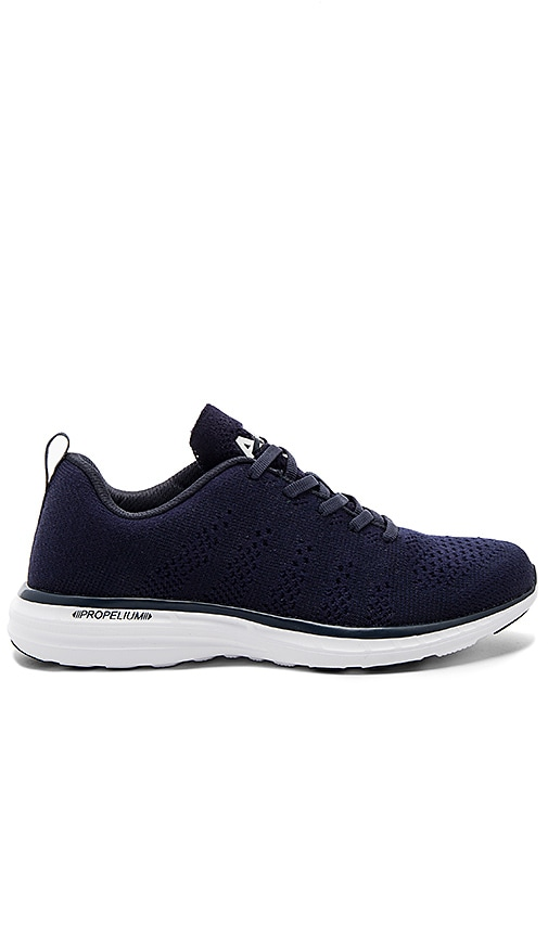 Athletic Propulsion Labs: APL Techloom Pro Cashmere Sneaker in Navy