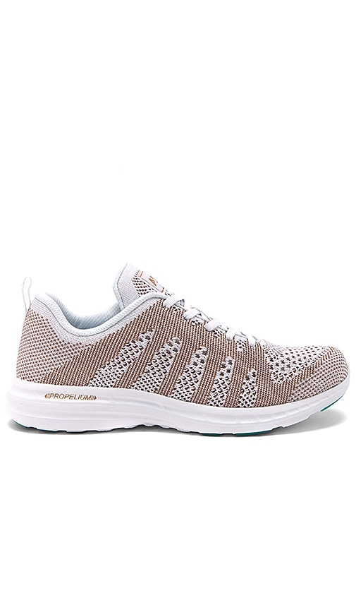1fdeb48a30fd APL  Athletic Propulsion Labs Techloom Pro Sneaker in White   Rose Gold.  Previous Slide. Next Slide. Close Modal. Techloom Pro Sneaker