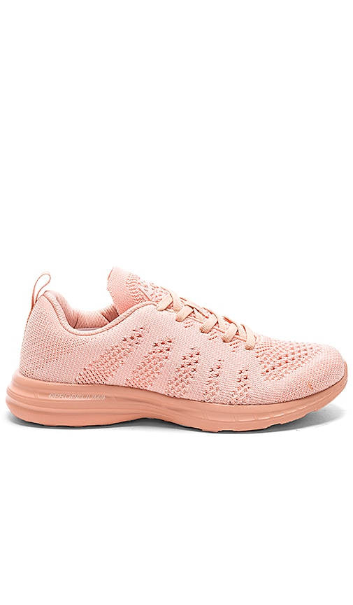 Athletic Propulsion Labs: APL TechLoom Pro Sneaker in Blush