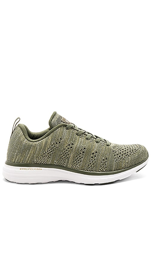 Athletic Propulsion Labs: APL Techloom Pro Sneaker in Green
