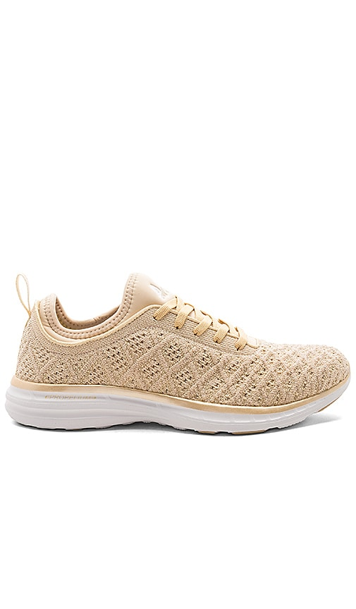 Techloom Phantom Sneaker in Metallic Gold. - size 6.5 (also in 10,6,7,7.5,8,8.5,9,9.5) Athletic Propulsion Labs