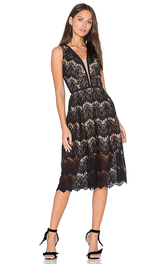 Loyola Lace Midi Dress