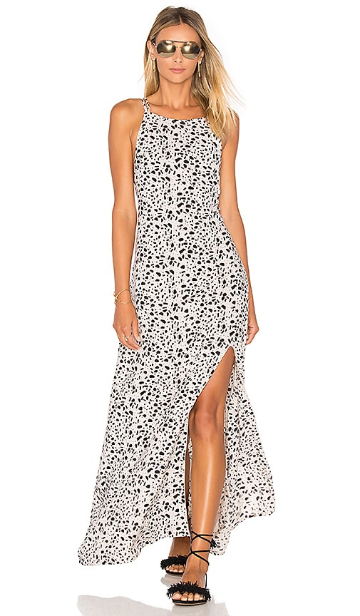Arrow Strappy Maxi Dress