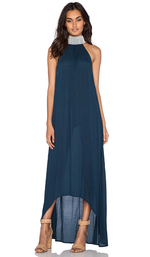 Aila Blue Jelita Maxi Dress in Midnight