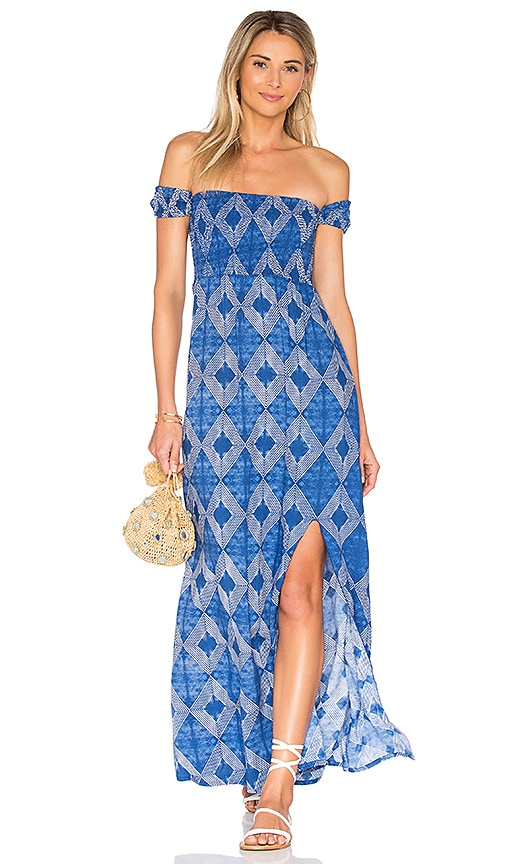 Aila Blue Momentum Maxi Dress in Blue