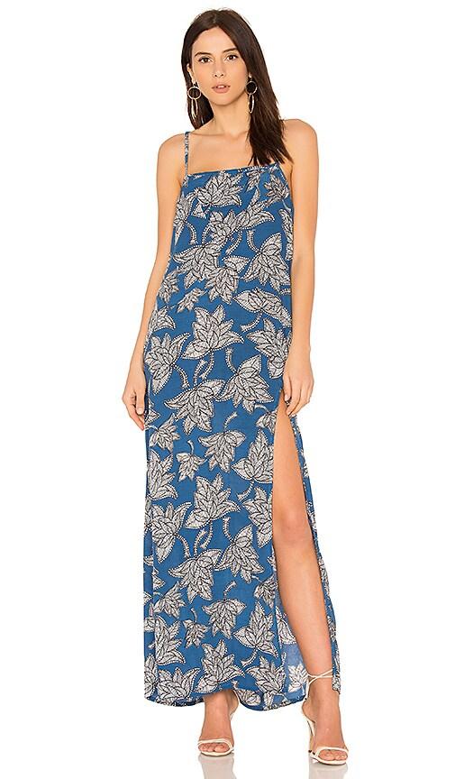 AILA BLUE SHATTERED DRESS