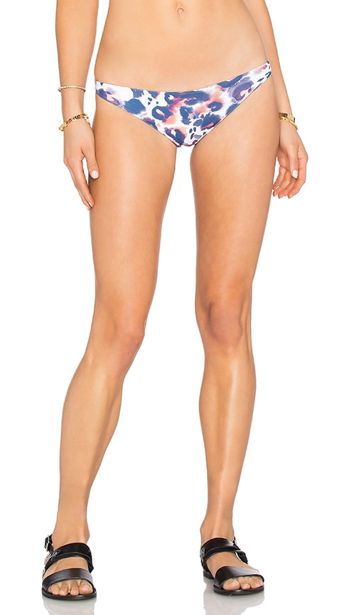 Aila Blue Shelter Bikini Bottom in Blue