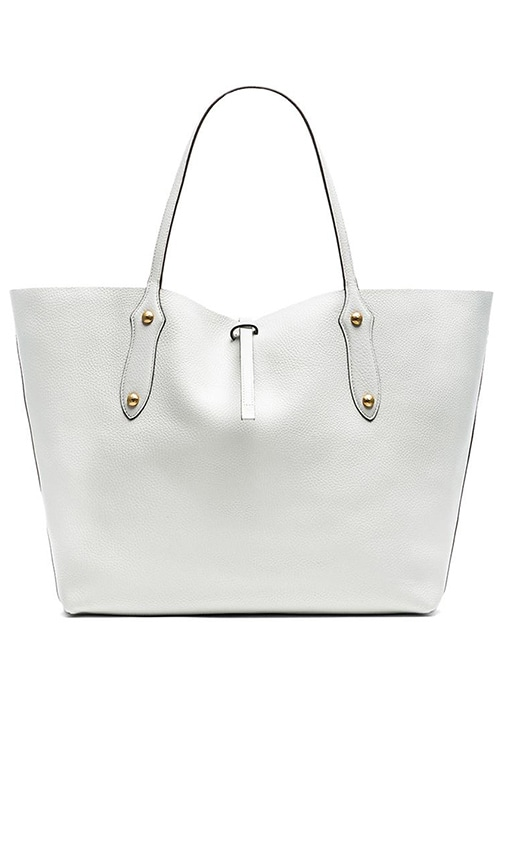 Annabel Ingall Large Isabella Tote in White