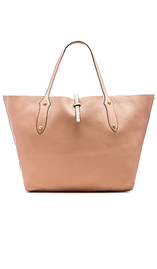 Annabel Ingall Isabella Large Tote Bag in Almond