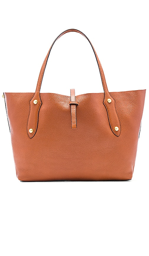 Annabel Ingall Isabella Small Tote in Burnt Orange