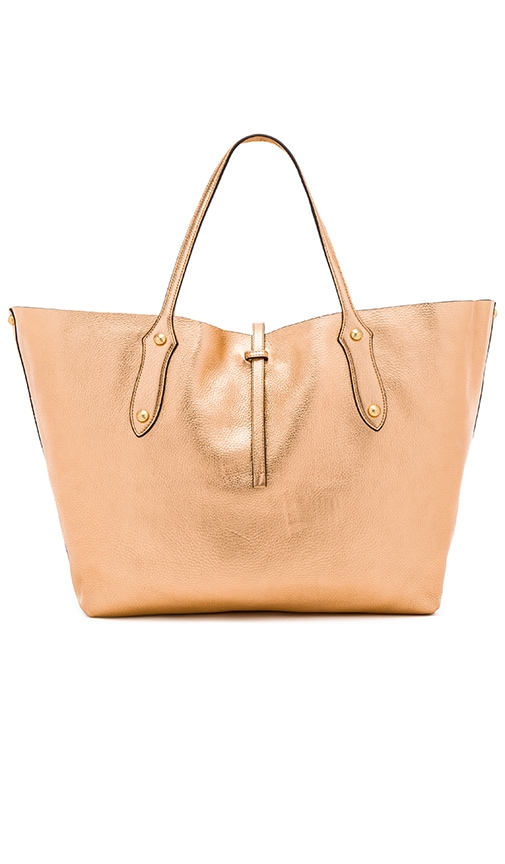 Annabel Ingall Large Isabella Tote in Metallic Copper