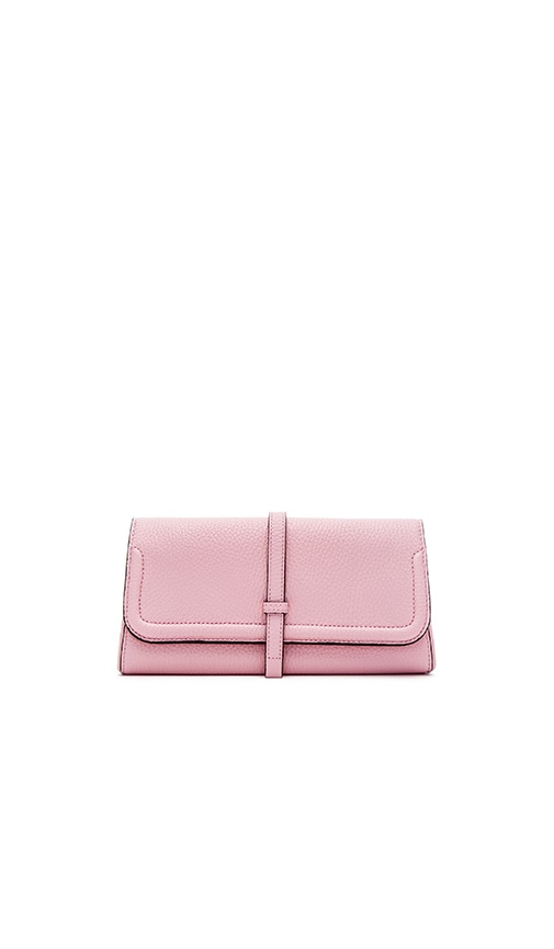 Annabel Ingall Charlotte Clutch in Rose
