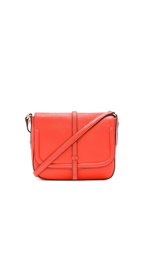 Annabel Ingall Allysin Saddle Bag in Red