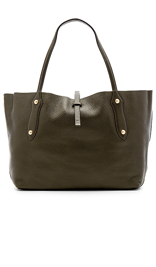 Annabel Ingall Small Isabella Tote in Olive